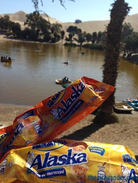Popsicles in Huacachina