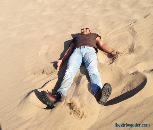 Sand angels > Snow angels.