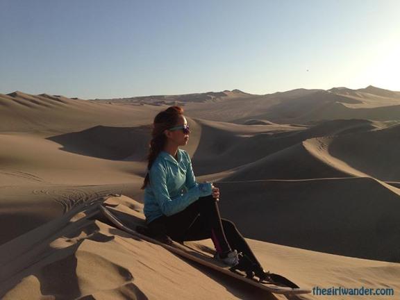 Huacachina Peru sand dunes